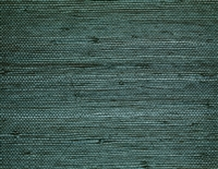 cool teal sisal grasscloth