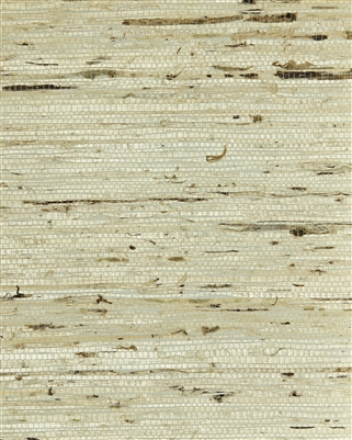 Oyster White Blend Arrowroot Natural Grasscloth
