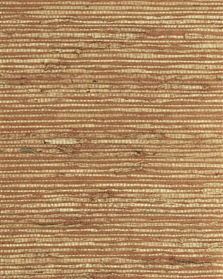 Autumn  Bronze Blend Arrowroot Natural Grasscloth