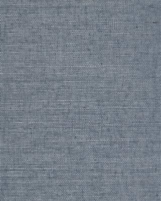 Heather Blue Natural Sisal Grasscloth