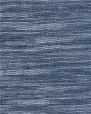 Pool Blue Natural Sisal Grasscloth