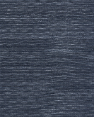 Indigo Blue Natural Sisal Grasscloth