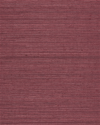 Crimson Red Natural Sisal Grasscloth