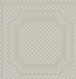 Beige Grid Tile Vinyl Wallcovering