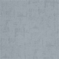 Chambray blue textile look  vinyl wallcovering