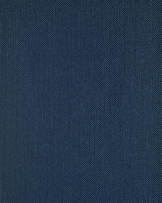 navy blue linen textile weave wallcovering