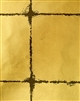 Autumn gold contrast distressed tile pattern