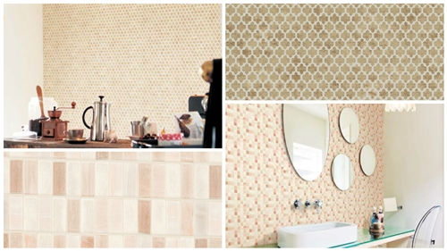 Interior Textured Faux Brick Effect Wall Covering Wallpaper