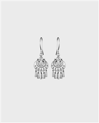 Kalevala Koru Jewelry MOON GODDESS (KUUTAR) Earrings, Silver, Small