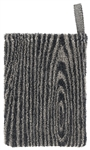 Lapuan Kankurit VIILU Wash Mitten for bath and sauna, black/linen
