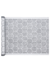 Lapuan Kankurit PAANU Seat Cover or Small Tablecloth, grey/white
