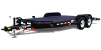 10DM Pro Series Diamond Back Car Hauler, trailer, Burgoon Company, Big Tex Trailers