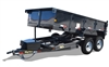 10LX Pro Series Tandem Axle Extra Wide Dump Trailer, trailer, Burgoon Company, Big Tex Trailers