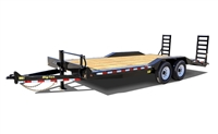 14DF Tandem Axle Equipment Trailer, trailers, Burgoon Company, Big Tex Trailers