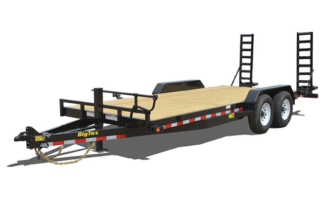 14ET Heavy Duty Tandem Axle Equipment Trailer, trailers, Burgoon Company, Big Tex Trailers
