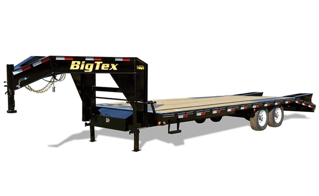 14GN Single Wheel Tandem Axle Gooseneck Trailer, trailers, Burgoon Company, Big Tex Trailers