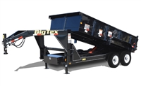14GX Heavy Duty Tandem Axle Extra Wide Gooseneck Dump, trailers, Burgoon Company, Big Tex Trailers