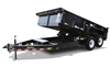14LP Low Profile Dump Trailer, trailers, Burgoon Company, Big Tex Trailers