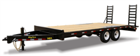 14OA Heavy Duty Over-The-Axle Bumperpull Trailer, trailers, Burgoon Company, Big Tex Trailers
