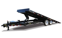 14OT Heavy Duty Over-the-Axle Tilt Bed Equipment Trailer, trailers, Burgoon Company, Big Tex Trailers