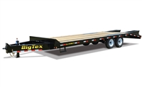 14PH Tandem Axle Pintle Hitch Trailer, trailers, Burgoon Company, Big Tex Trailers