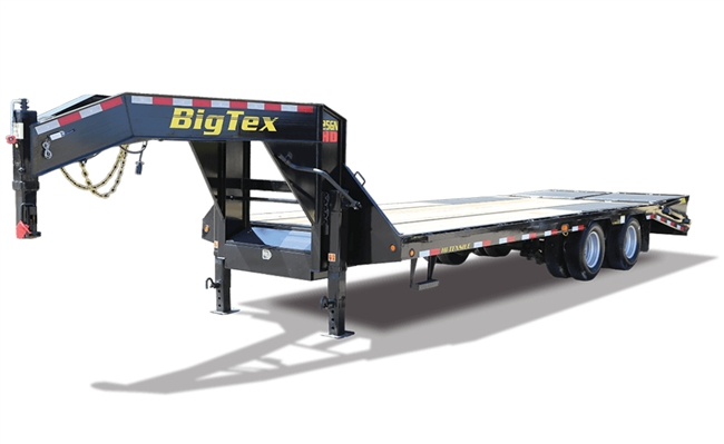 25GN HD Tandem Dual Axle Gooseneck Trailer, trailers, Burgoon Company, Big Tex Trailers