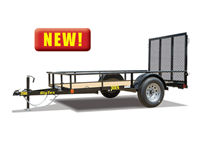 30ES Economy Single Axle Utility Trailer