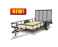 35ES Economy Single Axle Utility Trailer