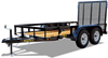 45LA Tandem Axle Angle Iron Utility Trailer, trailers, Burgoon Company, Big Tex Trailers