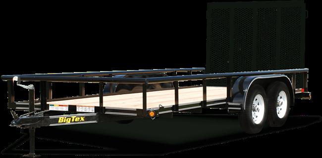 50la tandem axle angle iron utility trailer trailers burgoon rh burgooncompanytrailers com