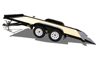 70CT Tandem Axle Car Hauler Tilt Trailer, trailers, Burgoon Company, Big Tex Trailers