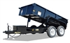70SR Tandem Axle Single Ram Dump Trailer, trailers, Burgoon Company, Big Tex Trailers