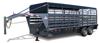 BRUSH BUSTER ES, livestock trailers, Burgoon Company, CM Trailers