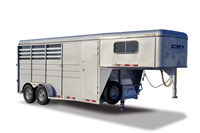 DROVER, horse trailers, Burgoon Company, CM Trailers
