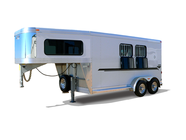 NOMAD GN, horse trailers, Burgoon Company, CM Trailers