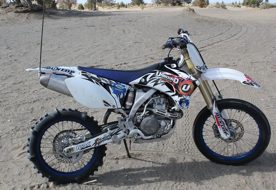 HRF Yamaha YZ450F 2006-2009 whip mount