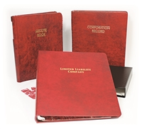12-3L Washington LLC Record Book Kit (Three Ring)