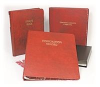 12-3RB Washington Corporate Record Book (Three Ring)