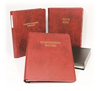 12R Washington Corporate Record Book Kit (Two Post)