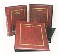 30R Hamilton Corporate Record Book Kit
