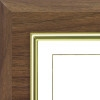 "D1 Deluxe Series Plaque - Walnut (8.5"" x 11"")"