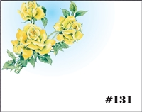 Falls 131 Enclosure Card - Yellow Rose
