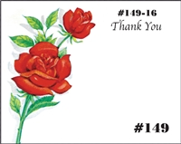 Falls 149 Enclosure Card - Two Red Roses