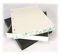Minute Filler  Two Post & Three Rectangle  (250 Sheets)