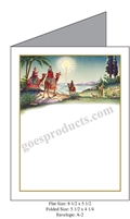 Three Wise Men Baronial Card