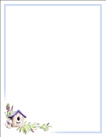 #9704 Letterhead - Bird House