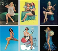 Timeless Beauties Pin-Up Posters