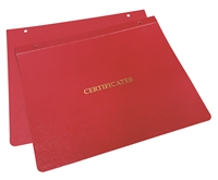 Goes Certificate Binders - Type K