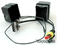 Double 9v Battery holder for Stealth GPS2 Type 2 Connector
