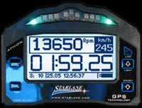 Athon XS  Tachometer - Shift Light - Track Mapping - Water Temp and Gear Inputs for Kart